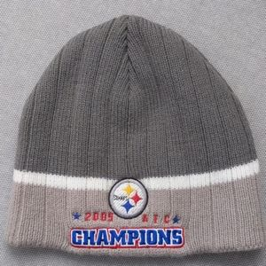 Pittsburgh Steelers 2005 AFC champions beanie